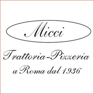 Logo di Trattoria Micci a Prati, Roma, dal 1936