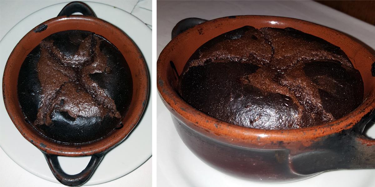 Trattoria Micci Rome, Prati - Chocolate soufflé